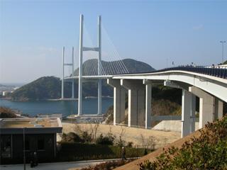 女神大橋の外観